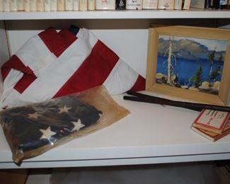 Cloth American Flags