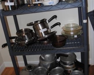 Farberware, Revere Ware and Magna Lite Cook sets