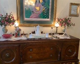 1920's buffet in perfect condition