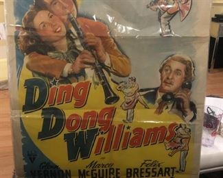 DING DONG WILLIAMS poster