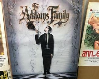 5.00 each/Original Adams Family advance poster; have several; 5.00 each.