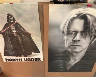 20.00 / Darth Vader ORIGINAL movie poster or DAVID BOWIE/VINTAGE POSTER