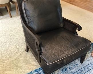 leather Bernrdt Chair