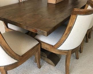 Chairs made by Kreiss - Table is RH I think