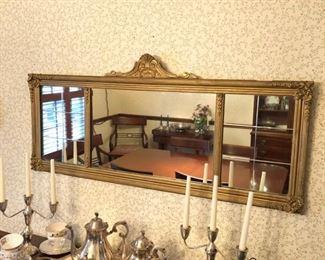 Antique Sofa Mirror