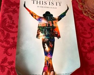 Michael Jackson poster, This Is It 2009