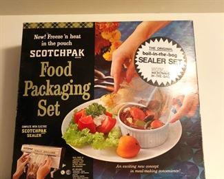 Scotchpak Food Packaging Set
