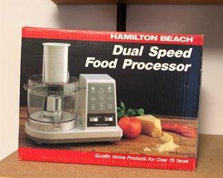 Hamilton Beach Dual Speed Food Processor