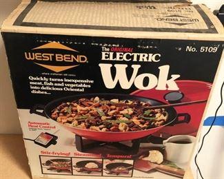 West Bend Electric Wok