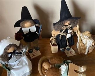 Lizzie High Dolls including Witch,Thanksgiving Characters & Christmas, New Store Stock