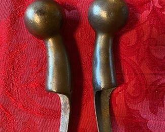 Brass Trim from Antique Horse Collar