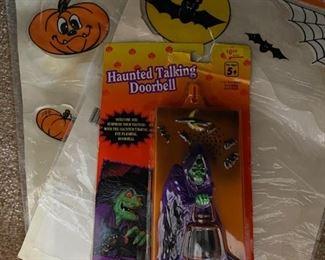 Halloween Talking Doorbell