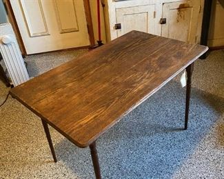 Antique Sewing Table / Lap Table - Folds