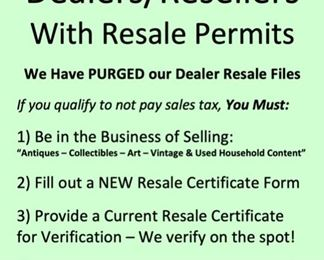 Dealers and Resellers