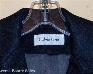Vintage Calvin Klein Wool Coat