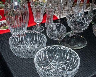Vintage Crystal including Waterford