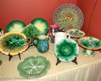 Majolica - Vintage and Repro