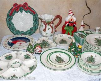SPODE Christmas Dinnerware