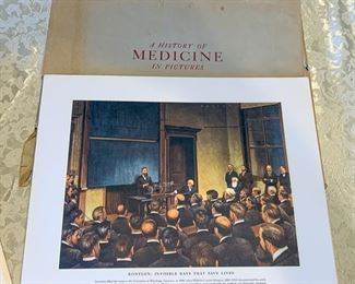 SET of HISTORY of Medicine in Pictures