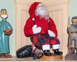 Santa and Figurines