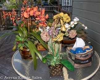 Accent Flowers and Pots - Bocce Ball