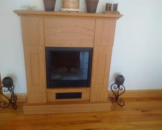 Electric Fireplace for $175 or best offer and miscellaneous home decor accessories