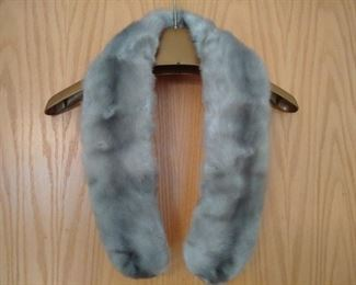 Mink and Fox Fur collars scarves all 50% off starting at $20 on up
