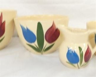 WATT POTTERY TULIP PATTERN