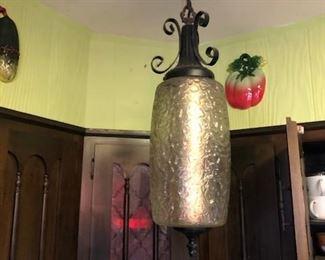 Mid Century Modern kitchen light fixture