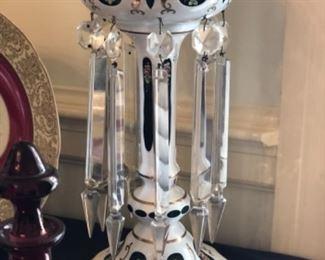 Antique luster with brilliant prisms