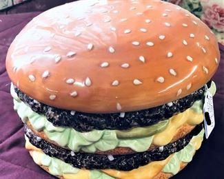 Big Mac Covered Dish or Cookie Jar