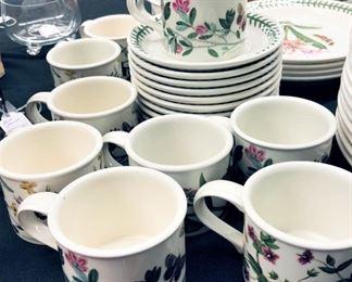 Portmeirion Botanic Gardens Cups and Saucers