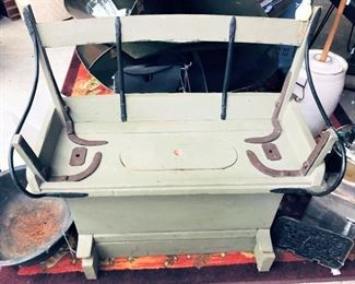 Buggy Seat with Storage