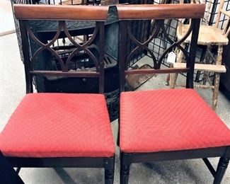 Dining Table Chairs (set of 6)