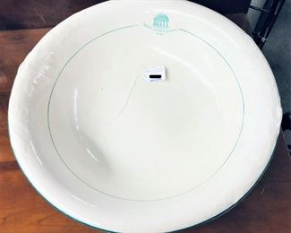 Early Greenbrier Hotel Washbowl