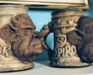 Jim Rumph Nixon and Agnew Pottery