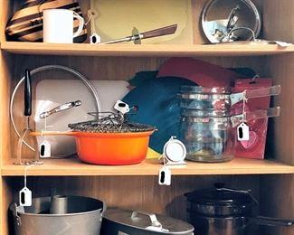 Kitchenware including Cuisinart, Corning, Etc.