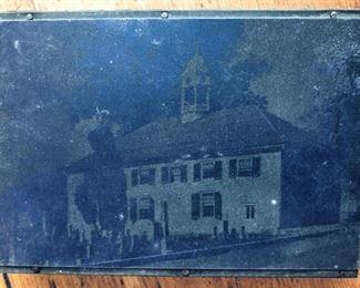 Old Stone Church Lewisburg WV Printing Block