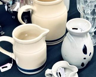 Pottery and Pitchers