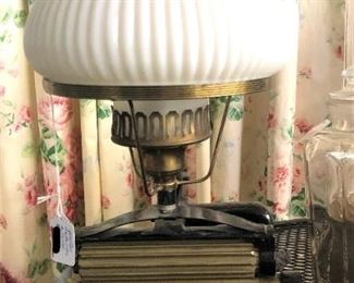 Pleater Made Into a Lamp