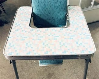 Retro Baby Table Chair