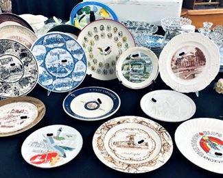 Various Decorative and Souvenir Plates