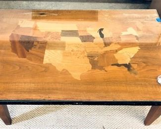 Wood from Every State Coffee Table