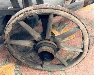 Goat Cart Wheel Detail