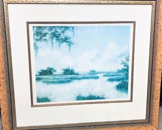 K. Miller Painting (Signed and Numbered)