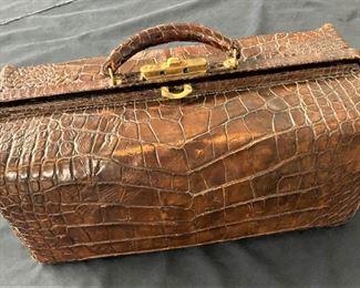 Crocodile Overnight Bag
