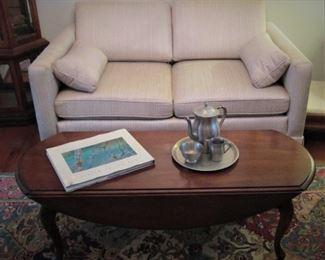 Brandt Drop Leaf Coffee Table...Love Seat....