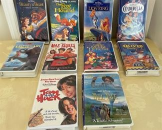 CLEARANCE !  $5.00 NOW, WAS $20.00.....................Vintage VHS Movies (C194)