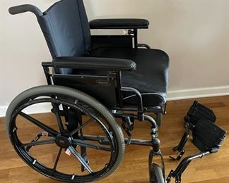 REDUCED!  $37.50 NOW, WAS $50.00.................Large Wheel Chair (C136)