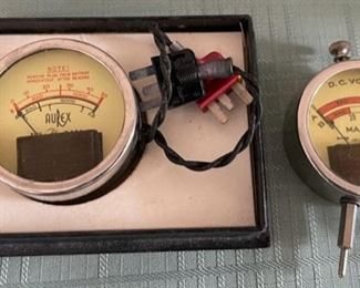 CLEARANCE !  $6.00 NOW, WAS $30.00..........................Vintage Aurex & Maico Pocket Voltmeters (C104)
